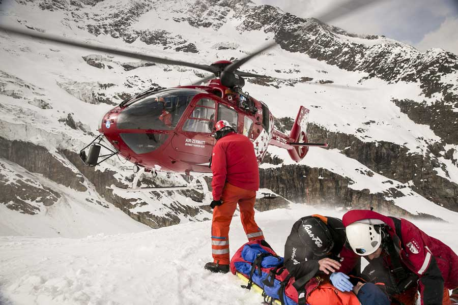 Heli Heroes. Epic Red Bull TV Series on Mountain Resuce
