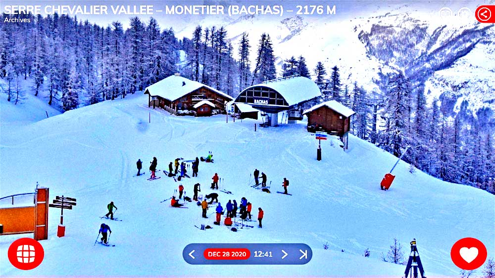 Ski Tourers Monetier lifts closed