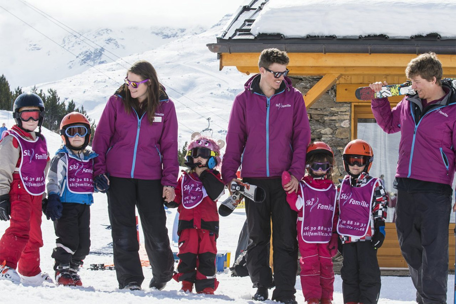 ski holiday childcare