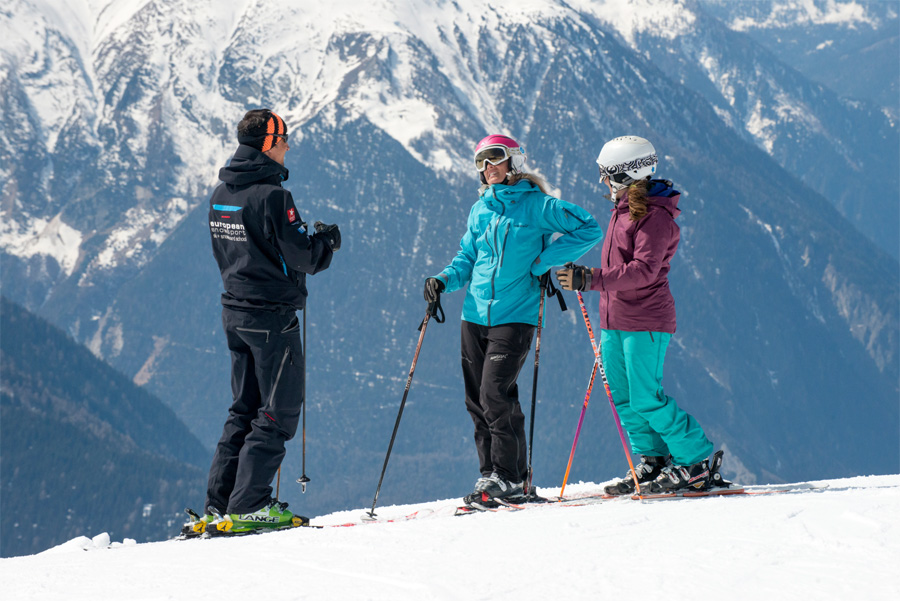 Coaching Zones Alternative to Ski Lessons in Verbier