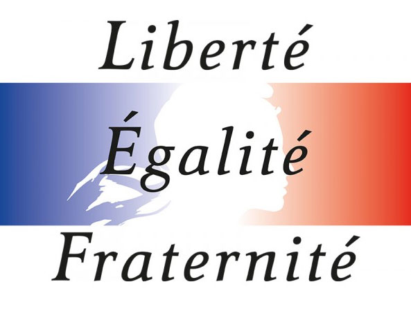 Libert galit fraternit for Fenetre meaning