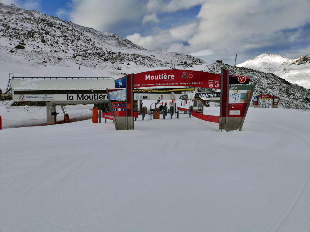 Moutiere lift Val Thorens
