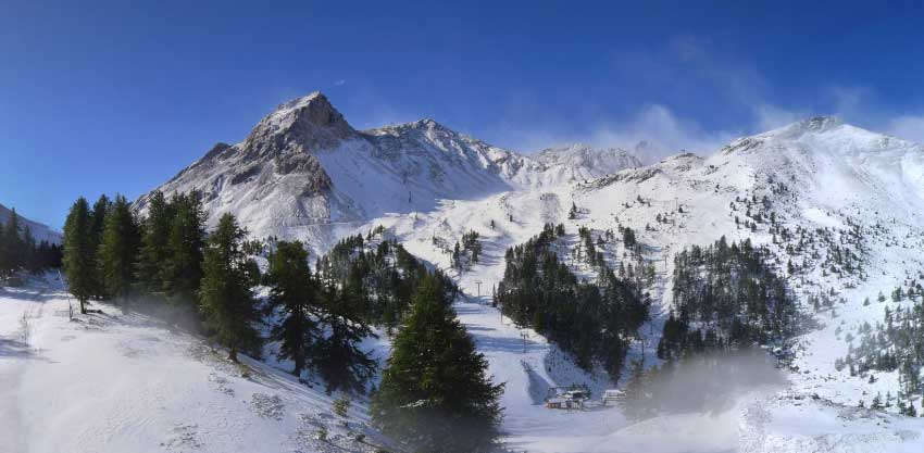 Serre Chevalier weather forecast blog and  webcam