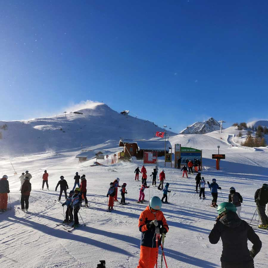 Christmas Day Serre Chevalier 2019